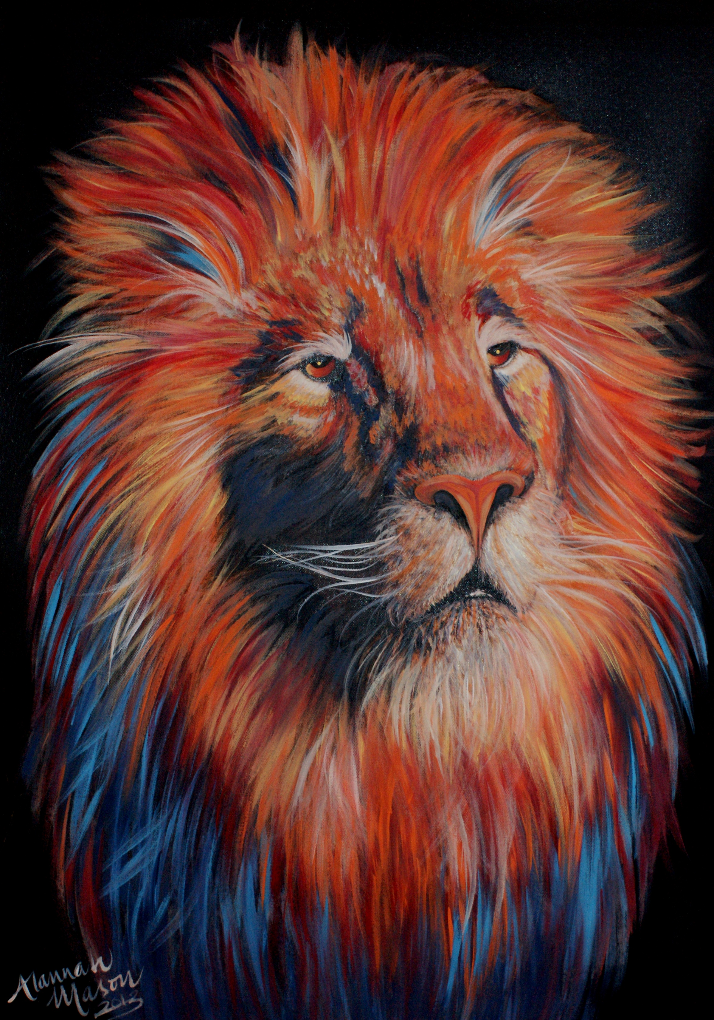 King of the Jungle 2x3ft