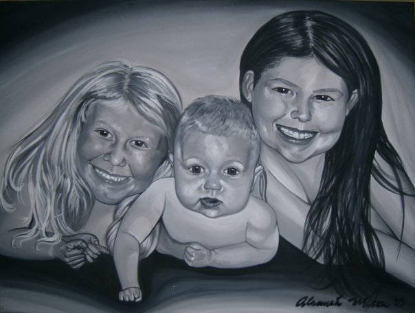 Sisters 2x3ft