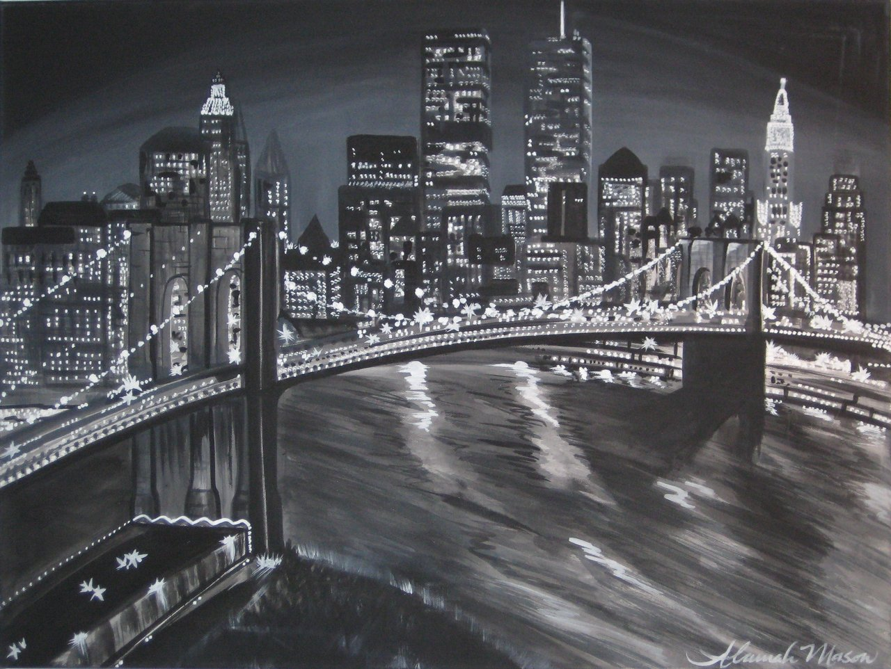 New York Cityscape 3x4ft
