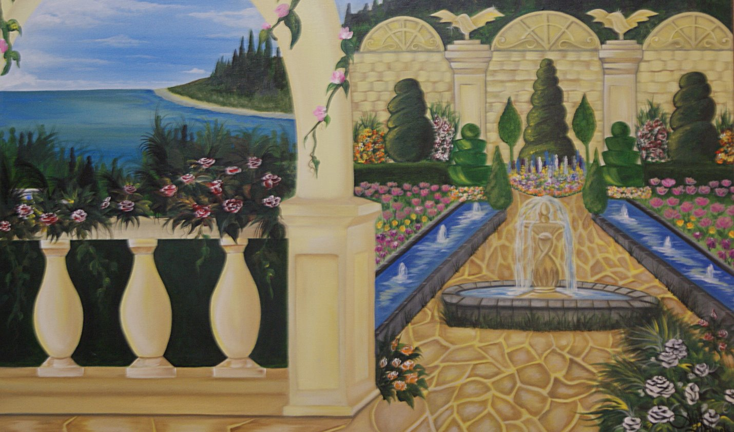Roman Palace for Eagle Waters 36x48