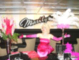 Marilyn Monroe impersonator in Toronto