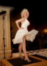 Marilyn Monroe impersonator full hour singing actToronto impersonator lookalike