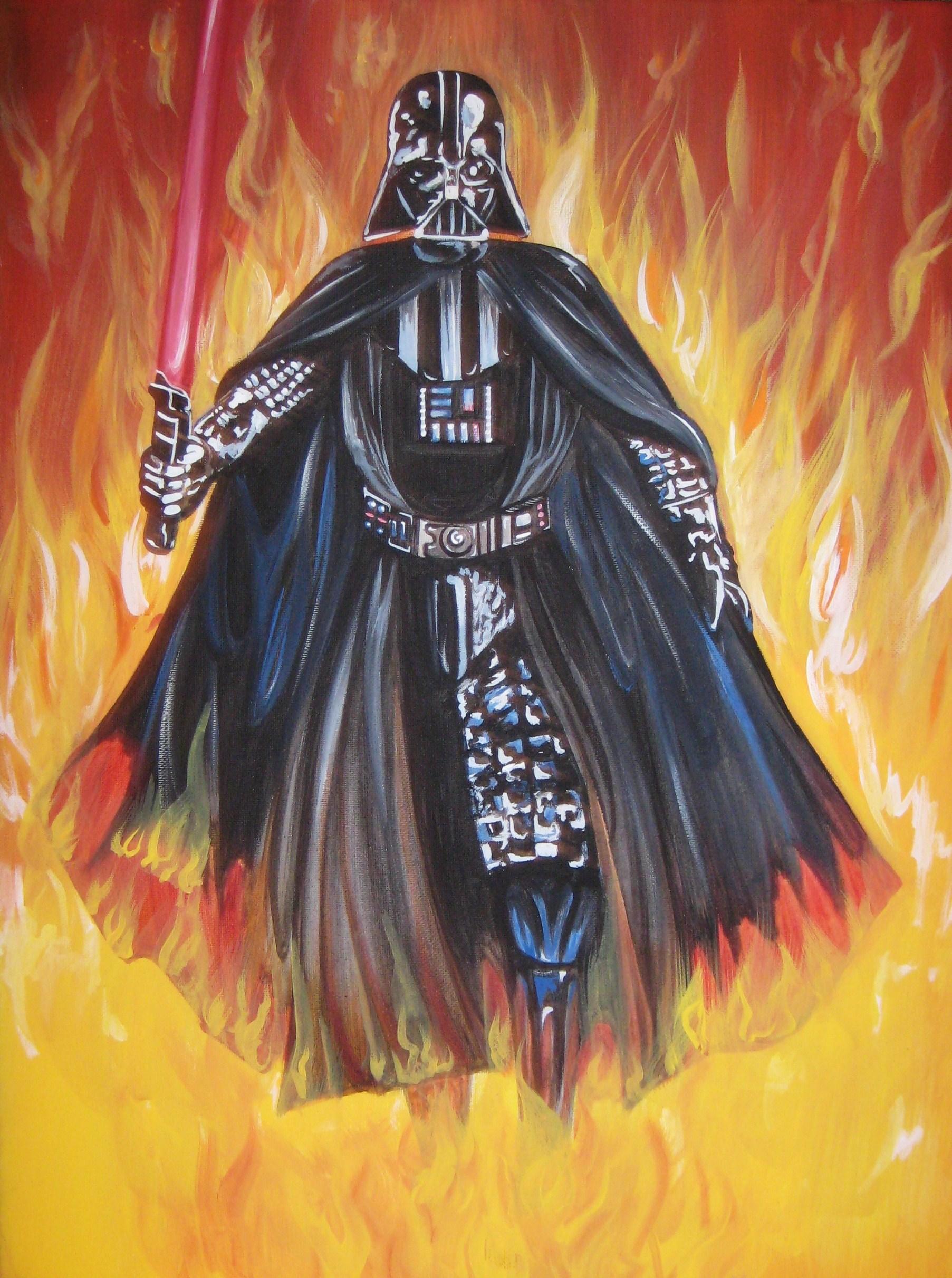 Darth Vader 12x16