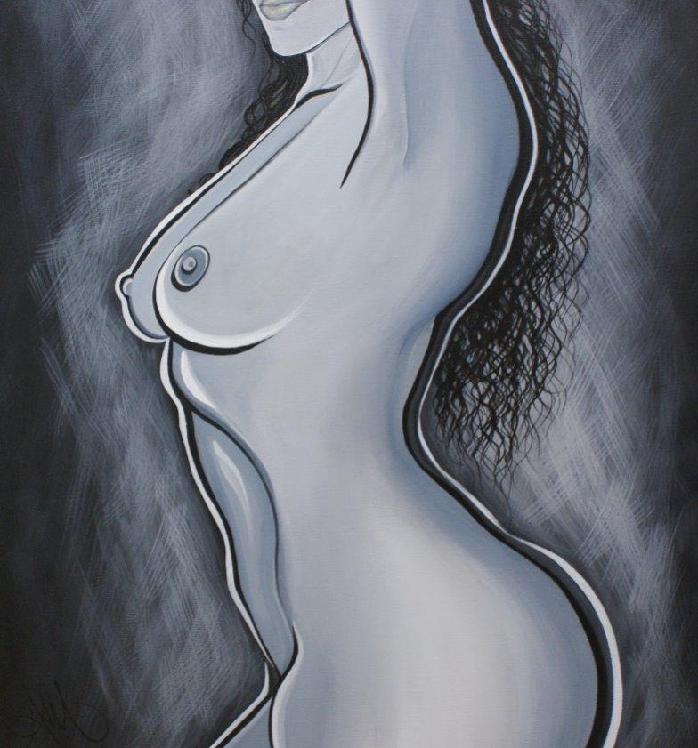 Nude 18x24
