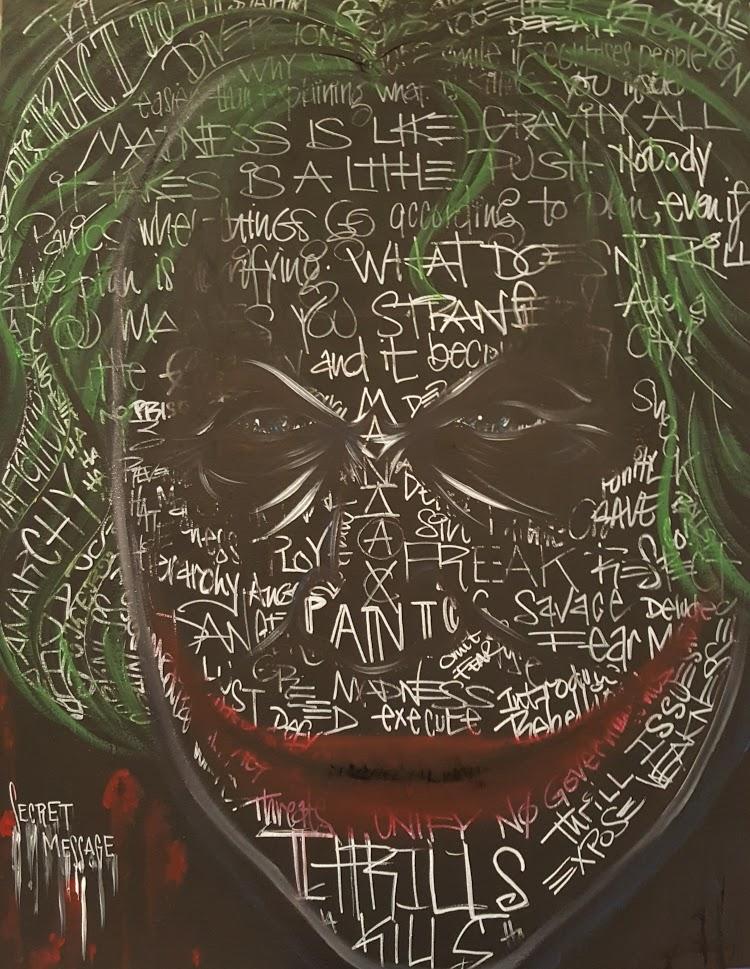 """24x36"""" Joker"""