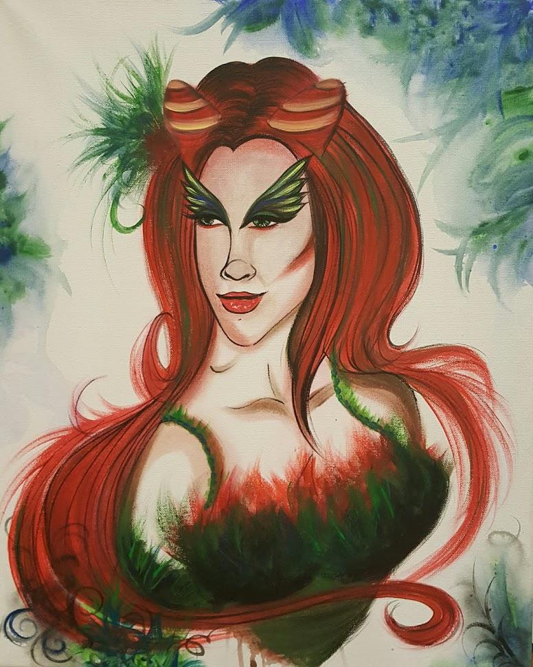 16x20 Poison Ivy