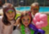 Luau entertainment face painting kids_ed