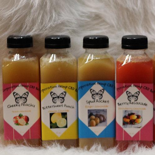 CBD Lemonade Flavored Beverages