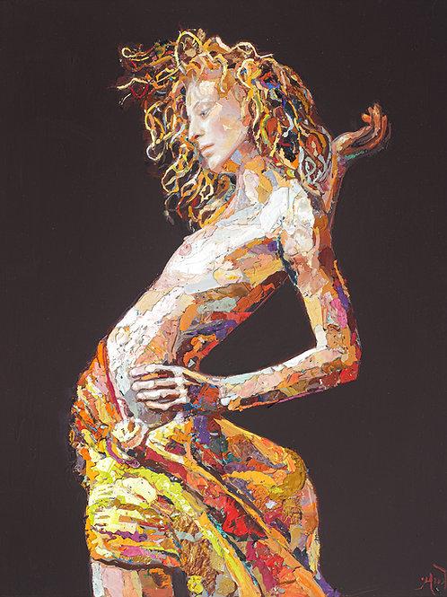 Michelle's Lady - Canvas