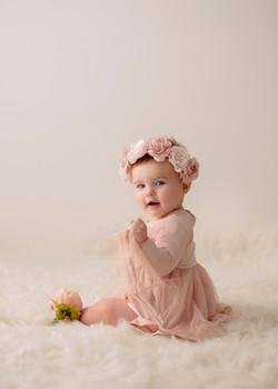 Baby studio photography