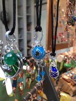 Glass One of a Kind Jewelry