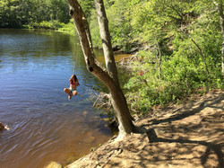 Unbelievable Rope Swing