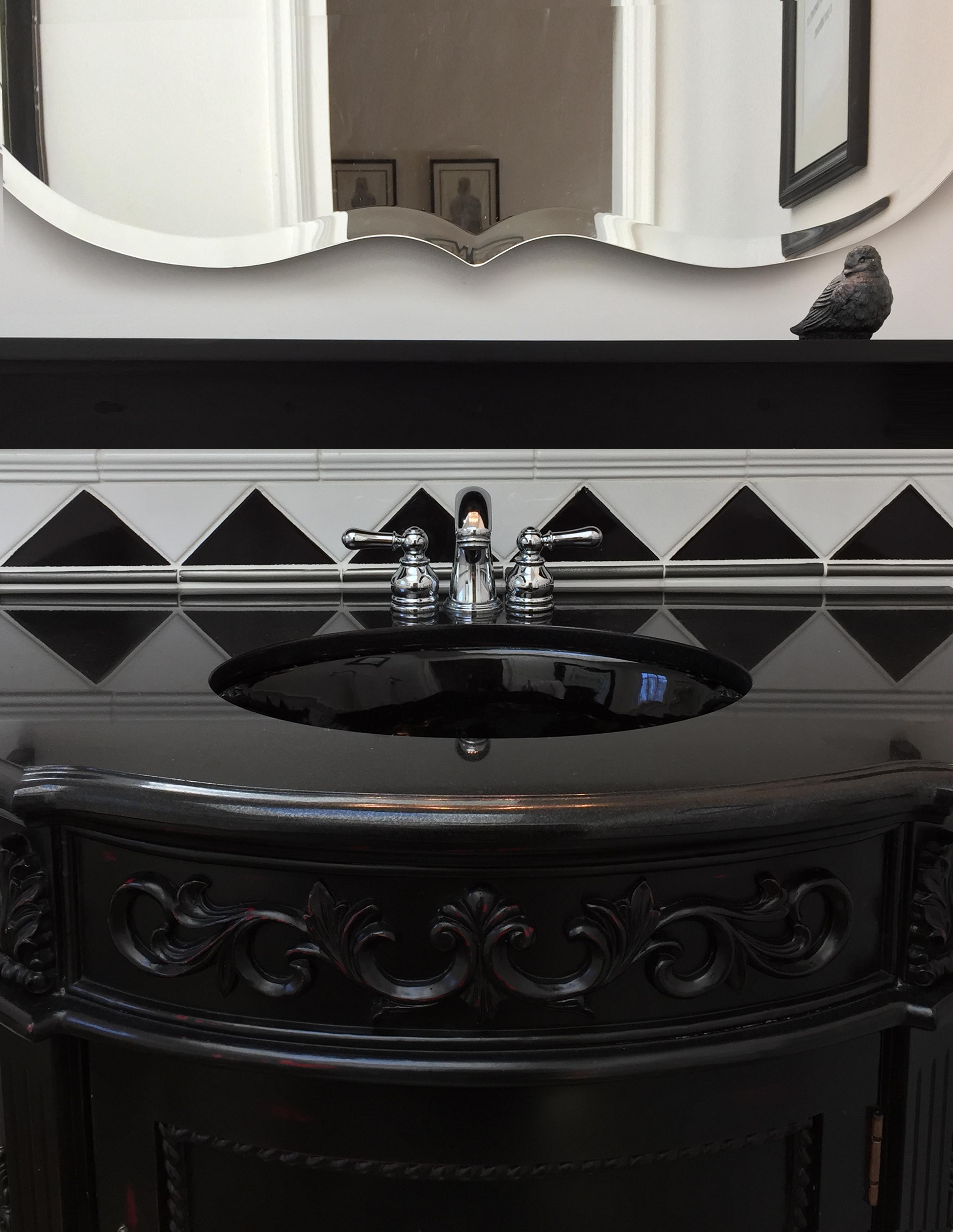 Black Room Vanity