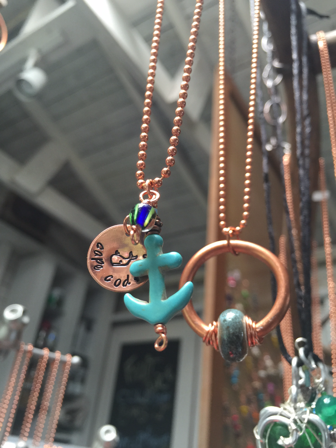 Copper Cape Cod Necklaces