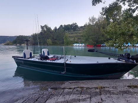 bateau Lac Sainte-Croix