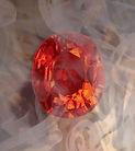 orange diamond, padparadscha sapphire