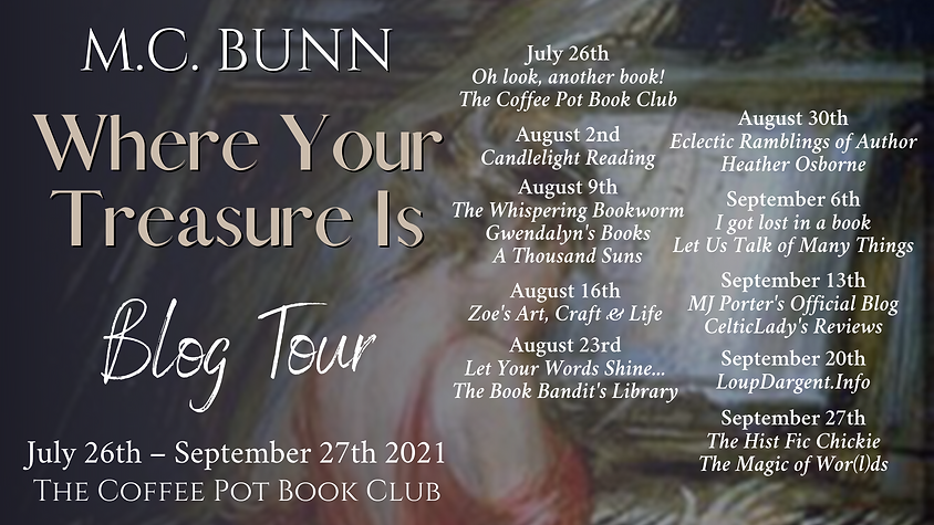Where Your Treasure Is Tour Schedule Ban