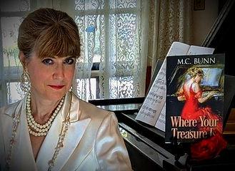 M. C. Bunn author, Where Your Treasure Is M. C. Bunn, M. C. Bunn NC author