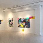 Installation shot of 'Recollection' solo exhibition, 2015