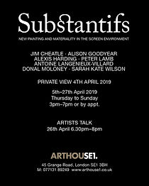 'Substantifs' Arthouse1' London 2019[1].