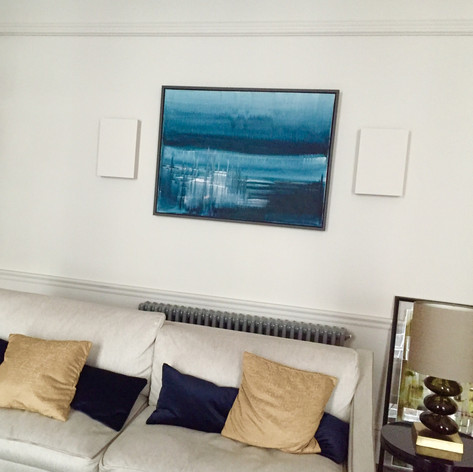 'looking out', private collection kensington, london