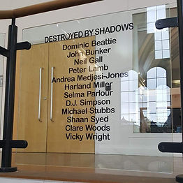 'Destroyed by shadows' Liverpool Hope Un