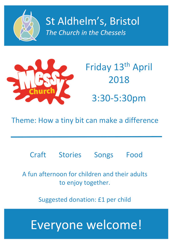 Messy Church - April 13th