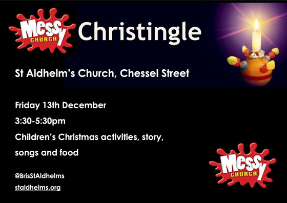 Messy Christingle - 13th December