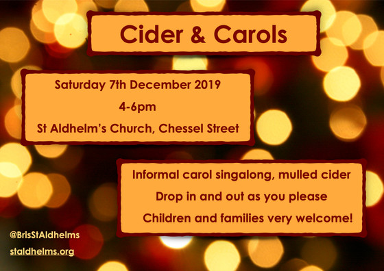 Cider and Carols - 7th December