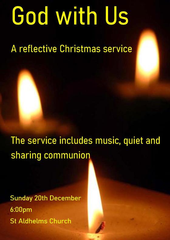 Reflective Christmas service