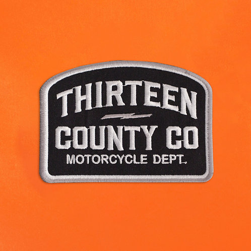 Motorcycle Dept. Patch
