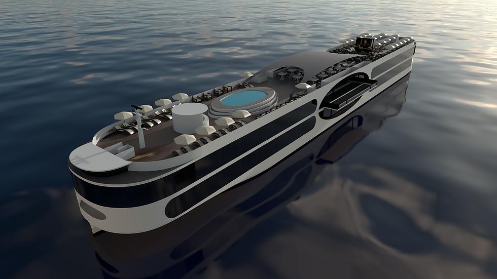 New Generation River Cruiser