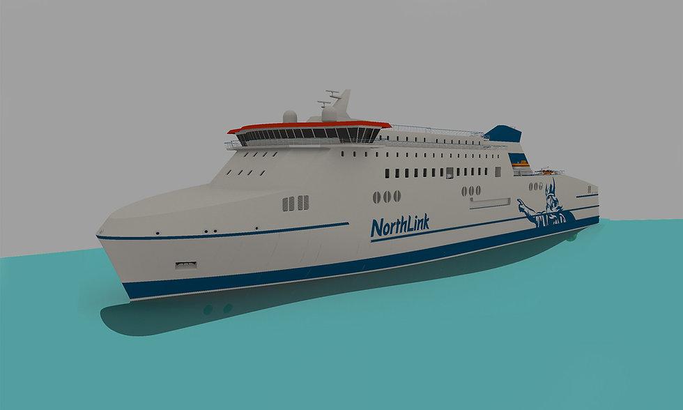 140m RoPax Vessel
