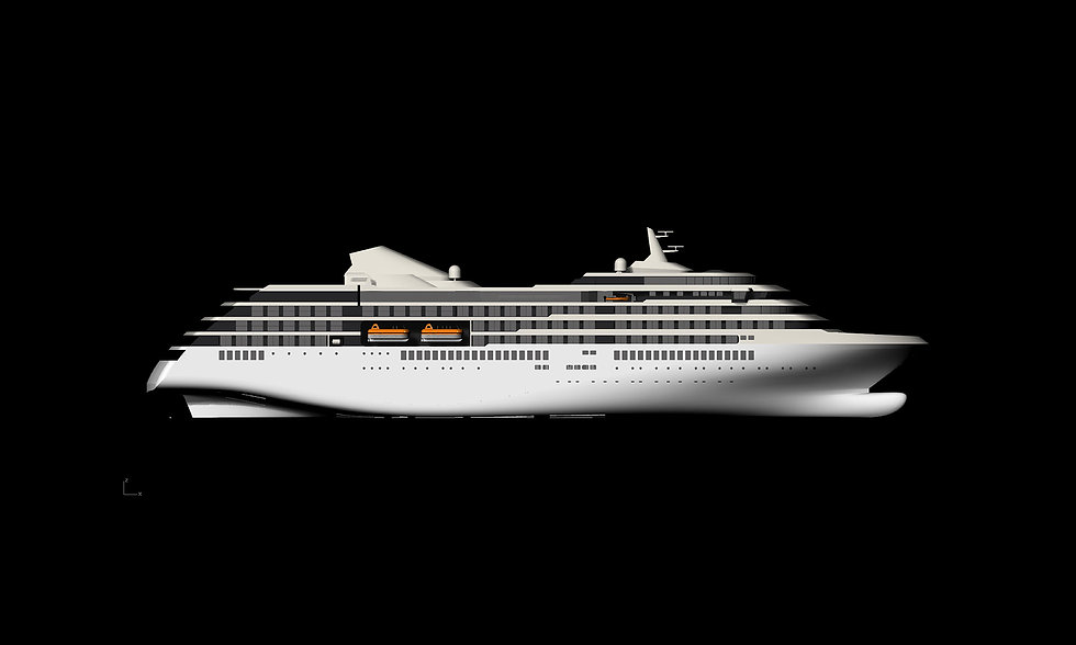 150m Expedition Cruise Vessel