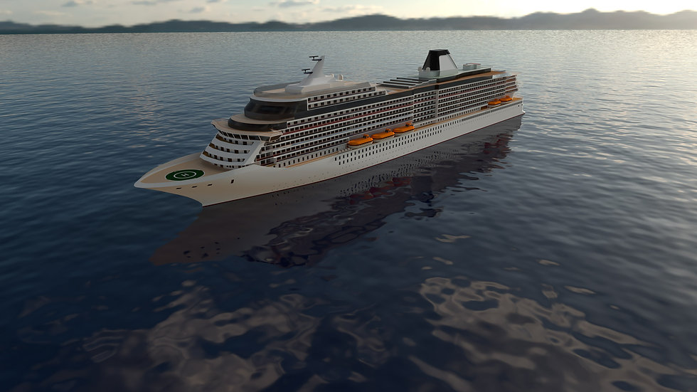 305m Cruise Vessel