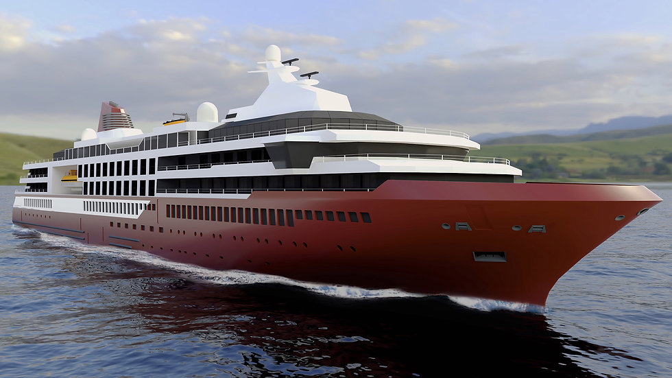 135m Expedition Cruise Vessel