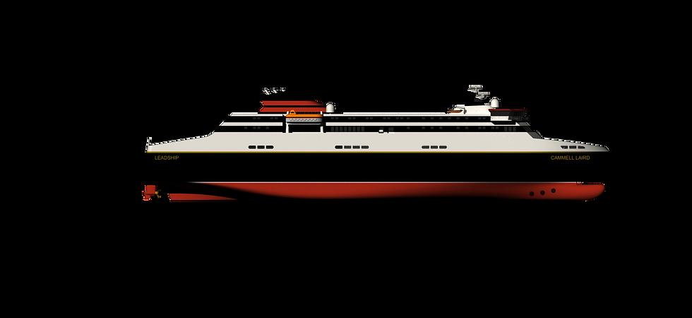 "135m RoPax Vessel - Project ""Mona"""