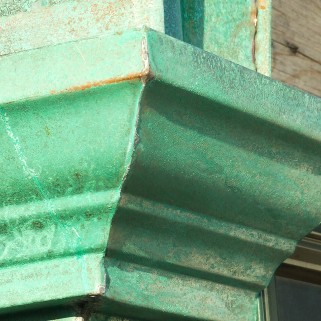 Pitina Copper Crown Molding Cornice