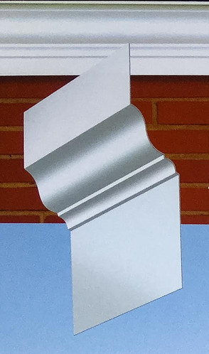Aluminum and Copper Crown Molding
