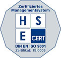 DIN EN ISO 9001 Certification