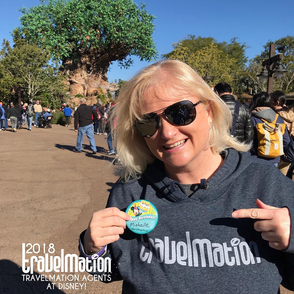 Travelmation Agent Michelle at Animal Kingdom