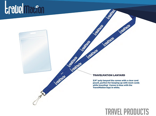 Lanyard with Pouch
