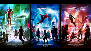 Marvel Themed Lands Coming to Disneyland Parks