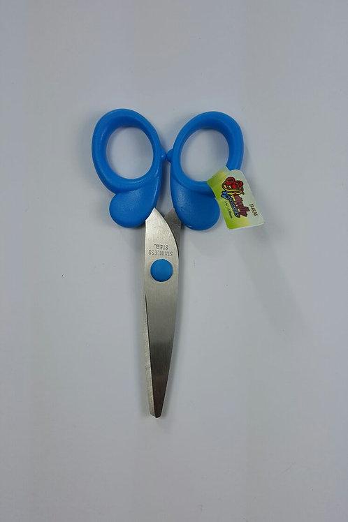 Tijeras 13 cm color azul