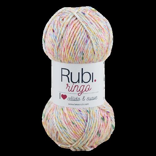 RUBI RINGO 100g 272 m 80% acrílico 10% viscosa 10% poliéster