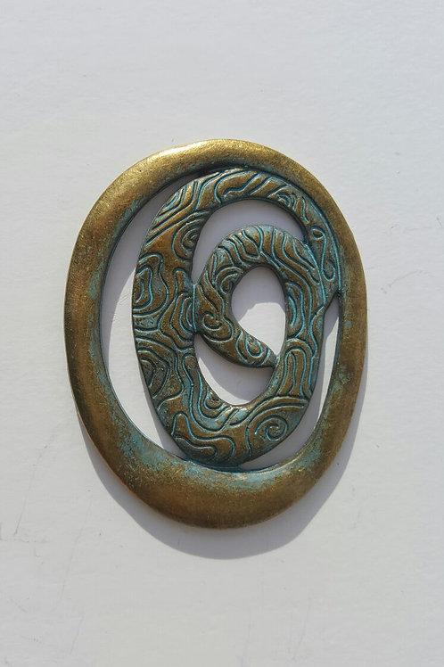 Círculo azulado