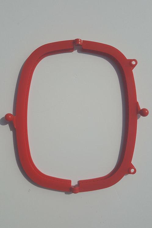 Boquilla de plástico de resina de 20.5 cm de color ROJO