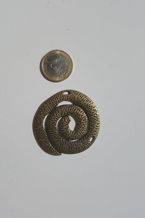 Remolino oro viejo 5 cm