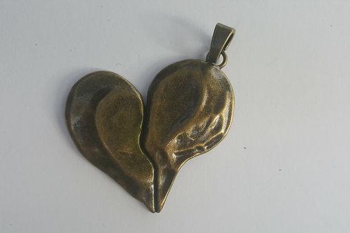 Corazón de BRONCE de 7.5 cm