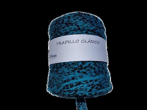 TRAPILLO ANIMAL PRINT CLARO BOBINA GRANDE, TRAPILLO ESPAÑOL